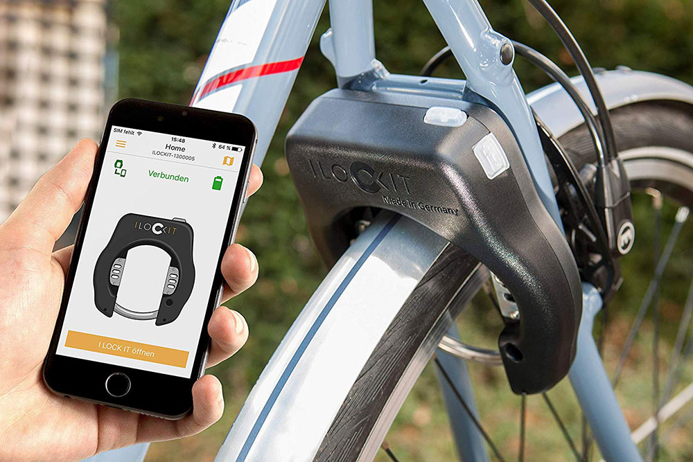I LOCK IT - Smart bike lock - Integrated alarm system - Theft protection